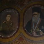 Tablou votiv: PF Nicodim - Regele Mihai