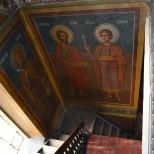 Fresca bisericii Buna Vestire